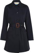 MICHAEL Michael Kors Cotton-twill Trench Coat - Navy