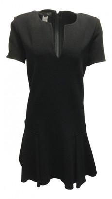 Oscar de la Renta Black Wool Dresses