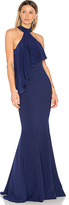 Jay Godfrey Franklin Gown in Blue