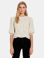 Joie Joza Puff Sleeve Sweater