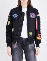 Alpha Industries MA-1 VF DIY shell bomber jacket
