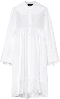 Simone Rocha Cotton-poplin minidress