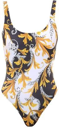 Versace Acanthus One Piece Swim Suit