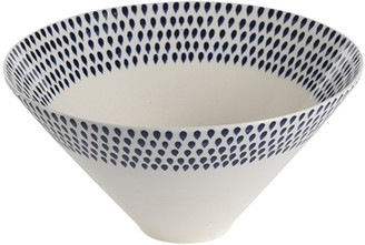 Nkuku Indigo Drop Serving Bowl - Small