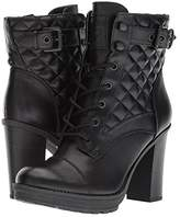 Gbg Los Angeles GBG Los Angeles Gift (Black) Women's Dress Lace-up Boots