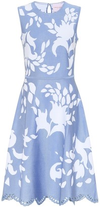 Carolina Herrera Printed midi dress