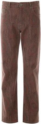 Etro Paisley Jeans