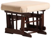 Dutailier Ultramotion Coffee/ Light Beige Ottoman for Sleigh and 2-Post Gliders