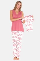 Olian Women's 4-Piece Maternity Sleepwear Gift Set