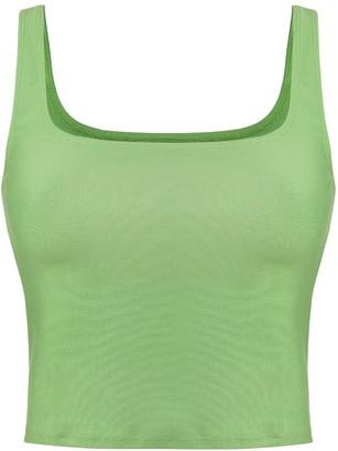 Ohlydia Intimates Green Camisole