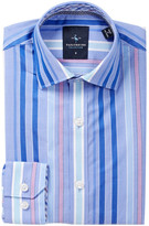 Tailorbyrd Woven Perry Stripe Dress Shirt (Big Boys)