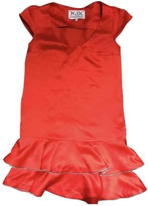 JC de CASTELBAJAC Red Dress for Women