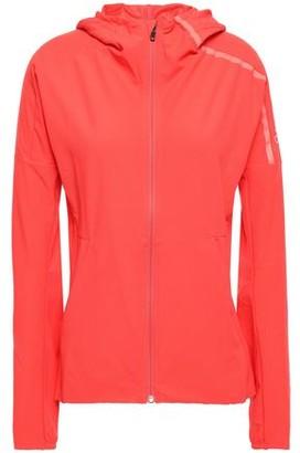 adidas Tech-jersey Hooded Track Jacket