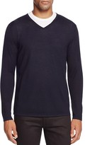 The Men's Store at Bloomingdale's Extra Fine Merino Wool V-Neck Sweater