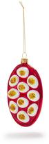 Sur La Table Deviled Egg Glass Ornament