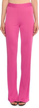 Emilio Pucci Elastic-Waist Straight-Leg Pants