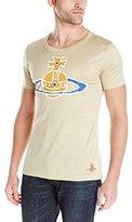 Vivienne Westwood Men's Batik T-Shirt, Beige Melange