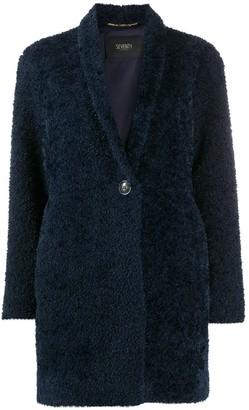 Seventy Shearling Midi Coat