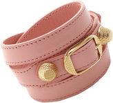 Balenciaga Arena Giant Gold Double Tour Bracelet