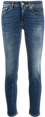 Dondup Slim-Fit Cropped Jeans