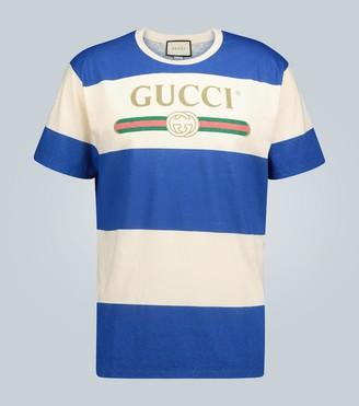 Gucci Cotton-blend logo T-shirt
