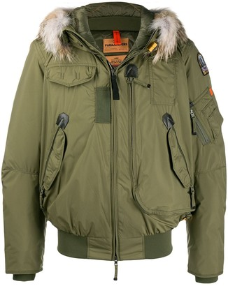Parajumpers Fur Trim Down Jacket