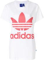 adidas Trefoil logo T-shirt - women - Cotton - 42