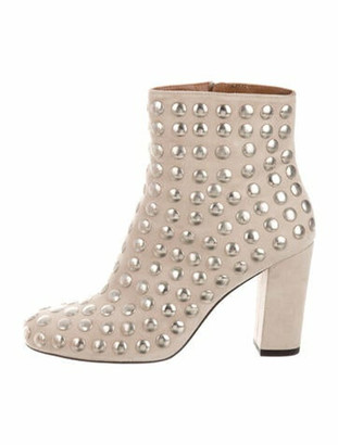 IRO Suede Studded Accents Boots