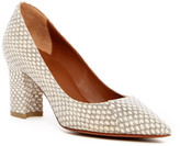 Aquatalia Michaela Weatherproof Genuine Snakeskin Pump