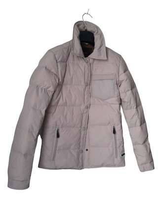 Gas Jeans Pink Synthetic Jackets