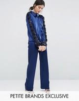 Starry Eyed Petite Premium Satin Pajama Pant