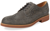 Tod's Leather Wingtip Derby