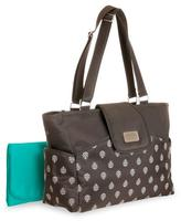 Carter's Carry It All Tote Diaper Bag - Grey Leaf Print