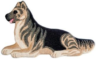 Dog Wool Rug For Lvr