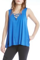 Fifteen-Twenty Fifteen Twenty Lace Up Tank Top