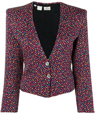 Valentino Pre-Owned 1980's Floral Jacket
