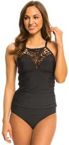Athena Swimwear Cabana Solids High Neck Tankini Top 8139463
