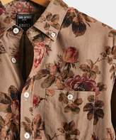 Todd Snyder Italian Micro Cord Floral Shirt