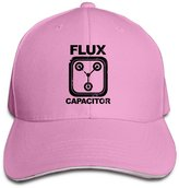 Cavely Back To The Future Flux Capacitor Sandwich Cap Snapback Fitted