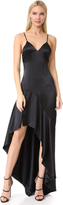 Jonathan Simkhai Silk High Low Gown