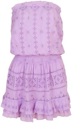 Temptation Positano Croco Strapless Mini Dress