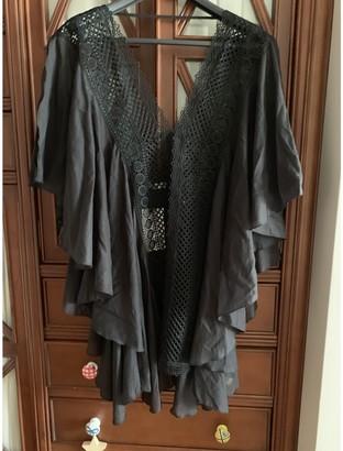 Charo Ruiz Ibiza Black Cotton Dresses