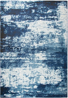 Panache Rizzy Home Contemporary Abstract Solid Rug