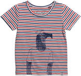 Sovereign Code Wollam Striped Short-Sleeve Tee, Red, Size 12-24 Months
