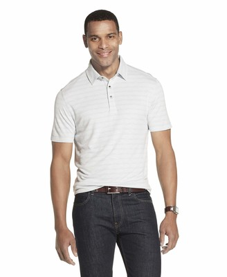 Van Heusen Men's Short Sleeve Air Performance Polo Shirt