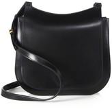 The Row Hunting Bag 9 Leather Shoulder Bag