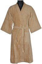 "Royal Comfort 48"" Bath Robe Terry Velour Kimono 8129476"