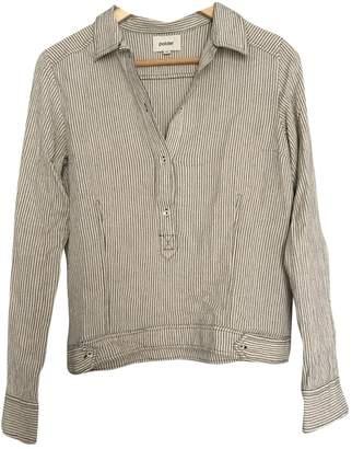 Polder Ecru Cotton Top for Women