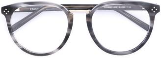 Chloé Eyewear Oval Frame Glasses