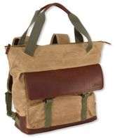 L.L. Bean Heritage Waxed Canvas Pack, Tote